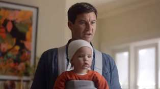 'First bloke' Clarke Gayford appears with Celeste Barber in hilarious audiobook advert