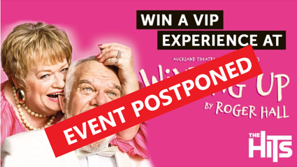 EVENT POSTPONED!!!!! WIN A VIP EXPERIENCE TO WINDING UP NEW PLYMOUTH