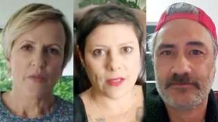 Kiwi celebrities Hilary Barry, Anika Moa, Taika Waititi and more unite against Covid-19 in new video