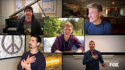 Elton John, Backstreet Boys, Dave Grohl, Billie Eilish, Mariah Carey, more sing from home to raise funds