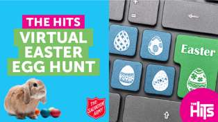 The Hits Virtual Easter Hunt with Salvation Army!