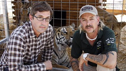 It turns out Louis Theroux interviewed 'Tiger King's Joe Exotic and you can watch it tonight