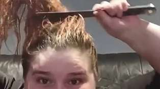 Kiwi woman cuts her own hair off with a kitchen knife during lockdown