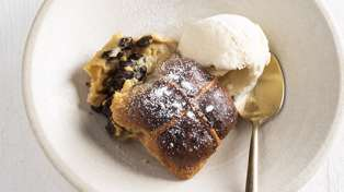 Try out this delicious Hot Cross Bun Pudding recipe from New World
