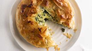 Try out this tasty Spinach Feta Pie recipe from New World