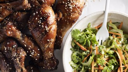 Try out this tasty Teriyaki Chicken Drumsticks recipe from New World