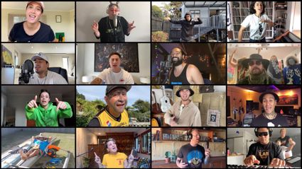Kiwi musicians come together to create uplifting charity single from lockdown