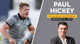 LISTEN: New All Blacks Captain Sam Cane on Rugby and Reporoa