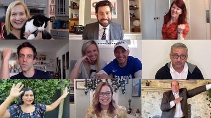 Cast of 'The Office' reunite for John Krasinski's adorable Zoom Wedding video