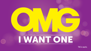OMG I WANT ONE IS BACK ... and we're handing over the power to you!