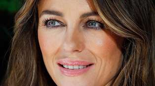Actress Elizabeth Hurley stuns fans in chainmail dress she wore 21 years ago