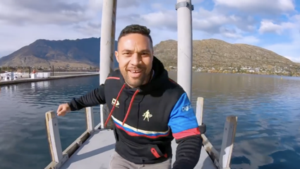 Joseph Parker takes Kiwis on epic New Zealand trip in 'Slice of Heaven' music video