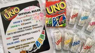 You can now get a boozy version of UNO and to spice up your next party