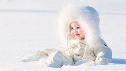 These stunning winter-inspired baby names are perfect for a frosty-season newborn