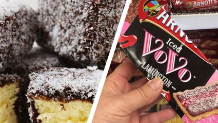 It turns out chocolate lamington-flavoured Iced Vovo biscuits exit and we want to try them