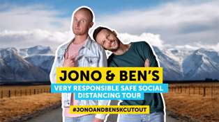 Jono and Ben's very responsible safe social distancing tour