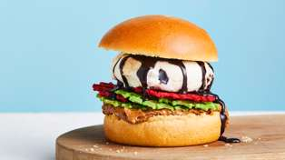 Ben and Jerry's launch brand new ice cream burger for Kiwis to try today