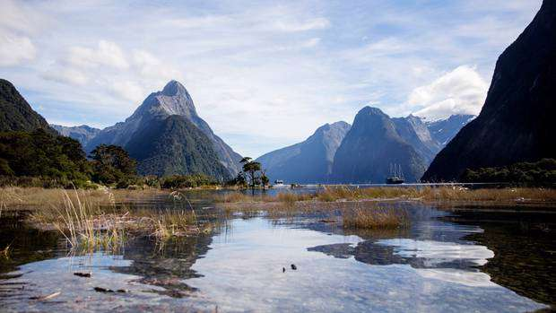 Milford Sound is Stacey Morrison's dream NZ holiday destination. Photo / Mike Scott