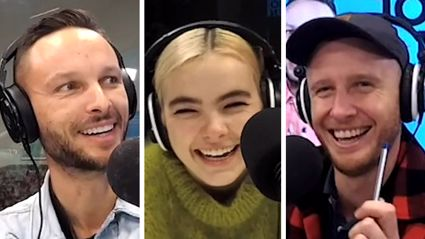 Kiwi star BENEE gets asked the most adorable questions from Jono and Ben's daughters