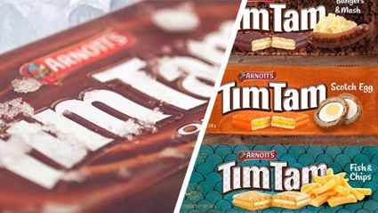 Tim Tam just announced bizarre new 'British' flavours and we don't know how to feel