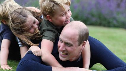 Kate Middleton shares three adorable new photos of her royal children with their father