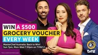 Win a $500 Grocery Voucher with Masterchef: Back To Win