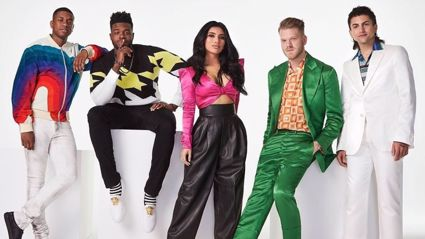 Pentatonix perform impressive a cappella medley of songs about being at home