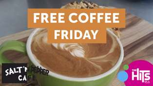 Free Coffee Fridays with Salt n Pepper Cafe
