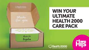 Win a Personalised Care Pack with Health 2000!
