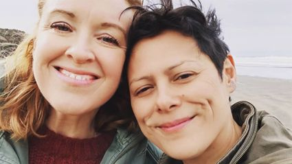 Anika Moa reveals the hilariously unromantic way she proposed to her wife