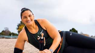Kiwi Olympic champion Dame Valerie Adams has just been turned into a Barbie doll