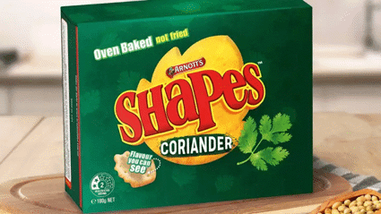Arnott's teases making coriander flavoured Shapes and people are completely divided