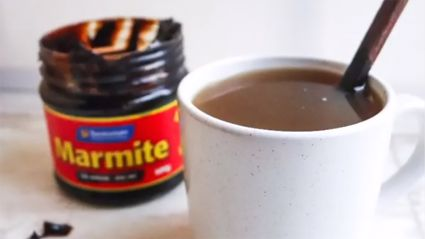 Marmite says you can have the spread as a hot drink and we don't know how to feel