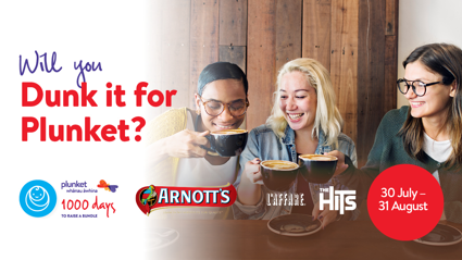 Win a Dunk it for Plunket Morning Tea, thanks to The Hits, and Arnott's.