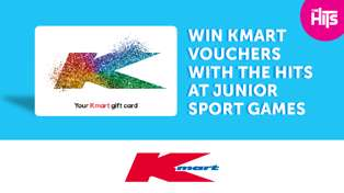 Win Kmart vouchers with The Hits at junior rugby games