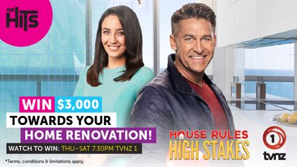Win $3,000 towards your renovation with House Rules: High Stakes!