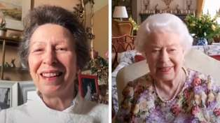 Watch Queen Elizabeth get a Zoom lesson from Princess Anne in clip from new documentary