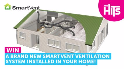 Win a brand new SmartVent Ventilation system installed in your home!