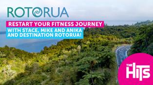 Win a Rotorua getaway to restart your fitness journey thanks to Destination Rotorua