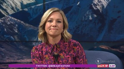 Hayley Holt dedicates final emotional 'Breakfast' appearance to 'my bubba who's up there'