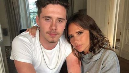 Victoria Beckham called out for bizarre Photoshopped photo of son Brooklyn