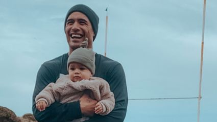 Aaron Smith opens up about emotional rugby milestone and life after becoming a father