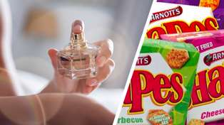 Arnott's teases a bizarre new range of Shapes-scented perfumes