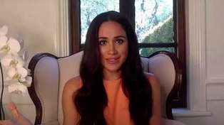 Meghan Markle reveals she's 'glad to be home' in rare Gloria Steinem interview video
