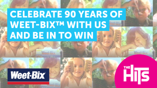 CELEBRATE WEET-BIX™ 90TH BIRTHDAY AND BE A PART OF THE RECREATION OF THE KIWI KIDS ARE WEET-BIX KIDS™ SONG!