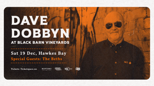 The Hits Presents: Dave Dobbyn Live At Black Barn Vineyards