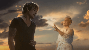 Watch the music video for Keith Urban's stunning new duet with Pink