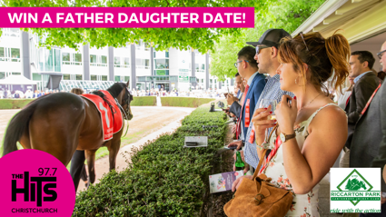 Win a Father Daughter Date at Riccarton Park!