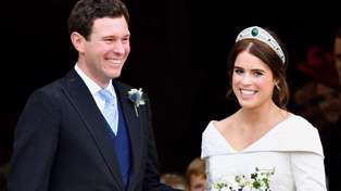 Princess Eugenie and husband Jack Brooksbank are pregnant with first baby