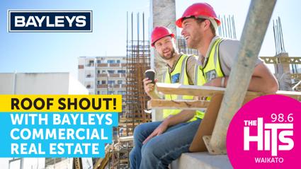Win a Bayleys Real Estate Roof Shout!